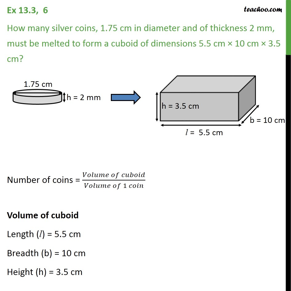 How Many Silver Coins, 1.75 Cm In Diameter