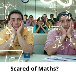 Scared of maths? Learn maths at teachoo.com
