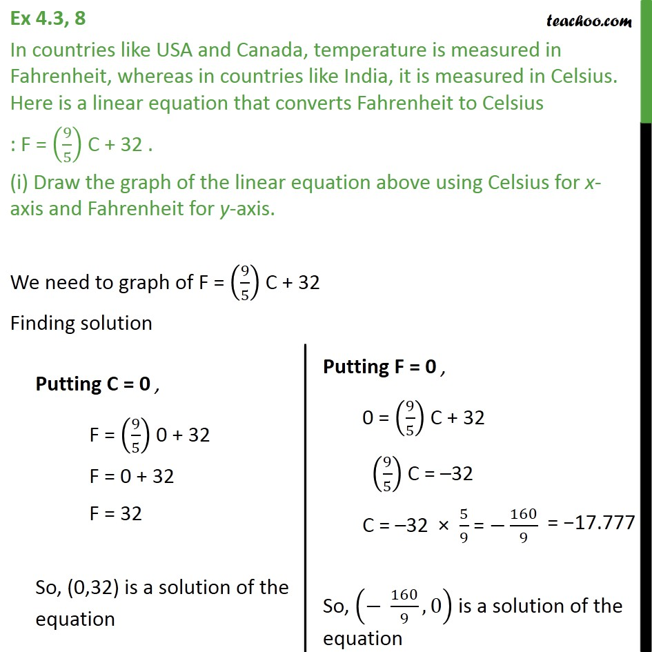 ex 4 3  8 - in countries like usa  u0026 canada  temperature